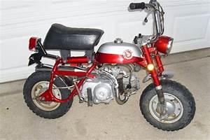 1969 Honda Z50 K1 Silver Tag Nice Minitrail 50