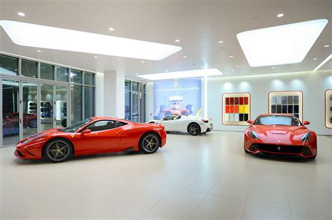 ferrari dealership a new ferrari dealership moves in under a woodlands