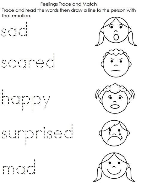 feelings worksheet english worksheets  kindergarten