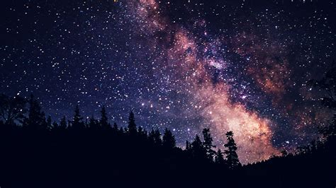 Wallpaper For Desktop Laptop Night Sky Dark Space