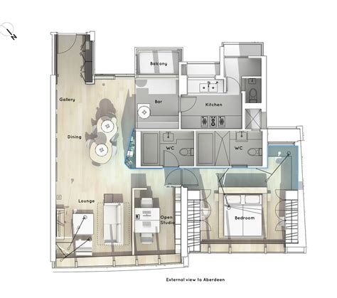 home office floor plans boathouse home office bean buro archdaily