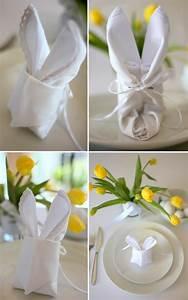 Servietten Falten Ostern Tischdeko : festliche tischdeko zu ostern typische ostersymbole auf den tisch bringen ~ Eleganceandgraceweddings.com Haus und Dekorationen