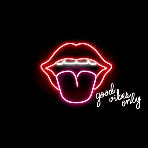Vibes Neon Wallpaper by Neon Vibes