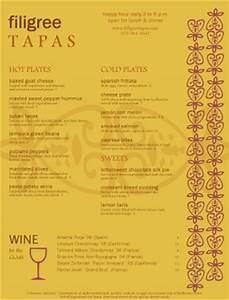 tapas food menu tapas menus With tapas menu template