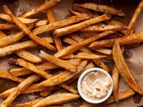 double fried french fries recipe guy fieri food network