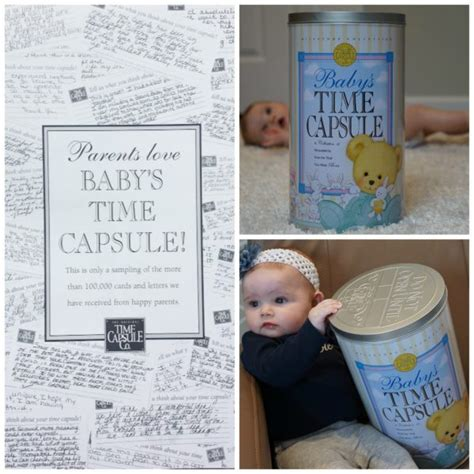 baby time capsule reviews time capsule company