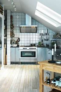 Small Industrial - Kitchen Design Ideas & Pictures