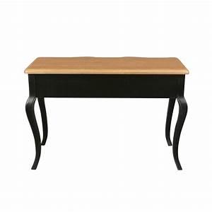 Bureau But Noir : bureau noir proven al de style louis xv meuble shabby ~ Teatrodelosmanantiales.com Idées de Décoration