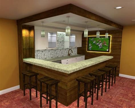 Home Bar Layout by 57 Basement Bar Layout Modern Basement Bar Ideas Layout