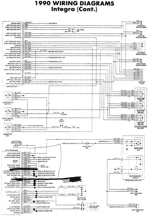 Honda Civic Wagon Wiring Diagram by Honda Civic Wagon B16a Automatic