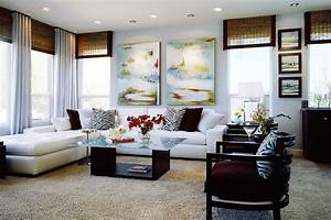 Beach Inspired Modern Family Room Before and After San
