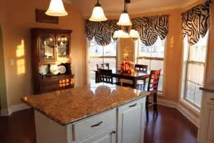 kitchen bay window curtains 4345 home and garden photo