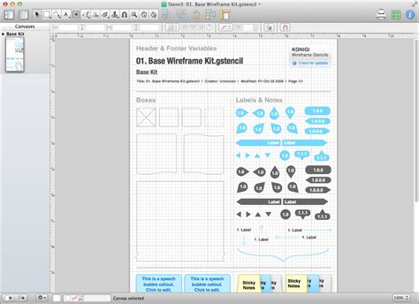 omnigraffle templates a beginner s guide to wireframing in omnigraffle