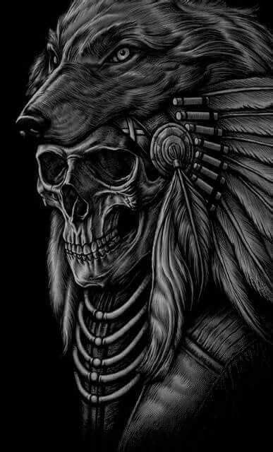 Samurai-Spirit   Indian skull tattoos, Indian headdress tattoo, Headdress tattoo