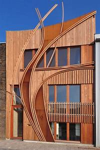 Modern, Townhouse, Designs, With, Facades, In, Art, Nouveau, Style