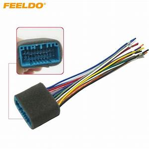 Feeldo 1pc Car Aftermarket Audio Radio Stereo Wiring