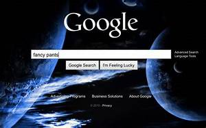 Google Search Homepage Gets Bing