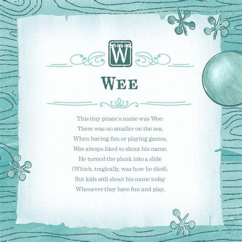 unfamous pirates wee poem unfamous pirates  arrr