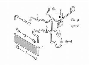 Lincoln Mkx Automatic Transmission Oil Cooler Hose