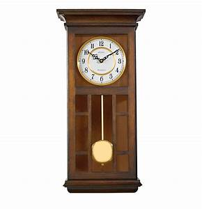 Bulova manorcourt pendulum wall clock for Bulova pendulum wall clock
