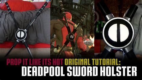 deadpool sword holster tutorial