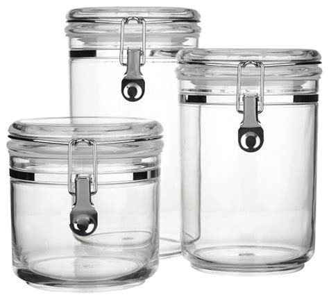 kitchen canisters and jars lewis acrylic storage canisters clear contemporary