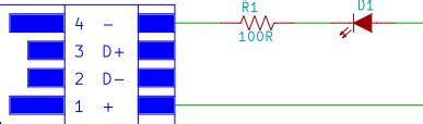 Circuit Diagram Led Torch by Usb Led Torch Beginners Electronic Project
