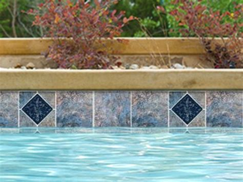 npt pool tile and national pool tile gemstone 6x6 series blue deco gms