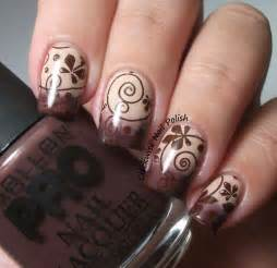 Beautiful brown nail art designs