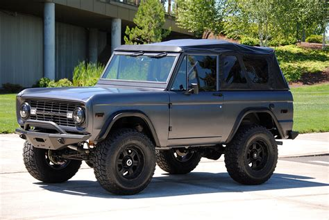 New Ford Bronco For Sale fuel injected 1971 ford bronco suv offroad for sale