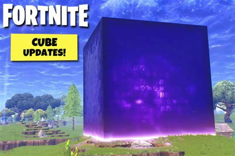 fortnite cube tracker season  news  happened