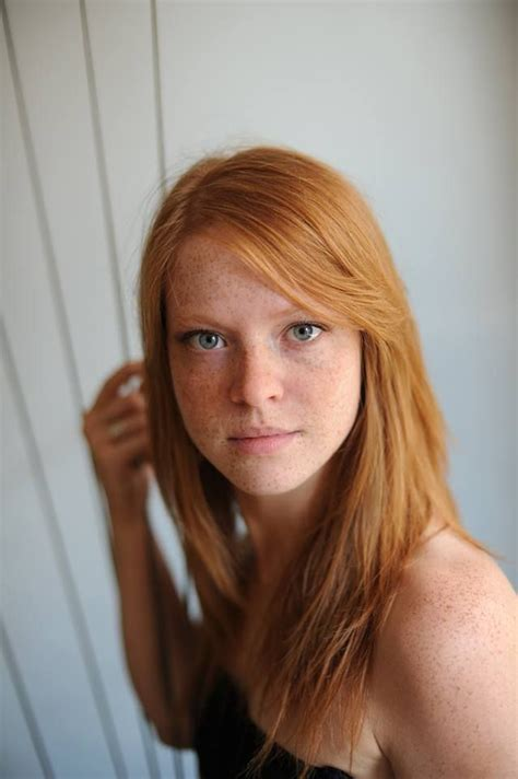 French Redheaded Model Beautiful Redhead Ginger Hair Girls With Red Hair