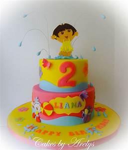 A Dora The Explorer Cake - CakeCentral com