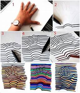 This 3D Hand Drawing is So Cool and Easy-Peasy