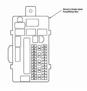 Acura Tl  2009  - Wiring Diagrams - Fuse Panel