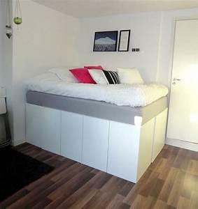 Hochbett Für Erwachsene : hochbett erwachsene mit schrank ~ Michelbontemps.com Haus und Dekorationen