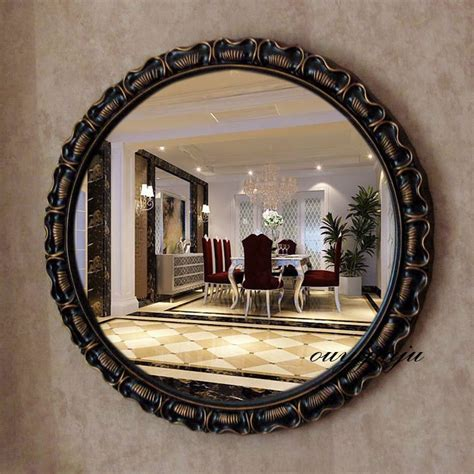 Decorative Bathroom Wall Mirrors by Large Big Decorative Cosmetic Antique Wall Bathroom Mirror