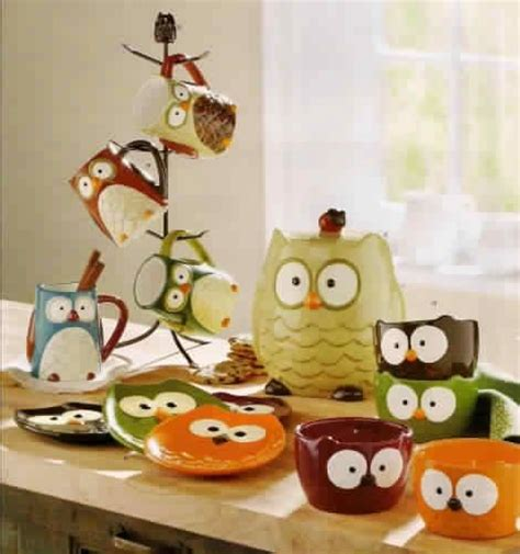 colorful owl kitchen decor 606 best where owls rule images on barn owls 5575