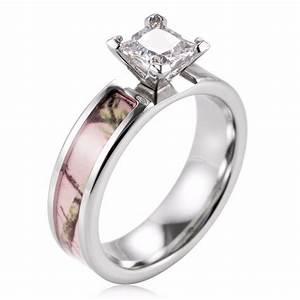 popular pink engagement ring buy cheap pink engagement With ladies camo wedding rings
