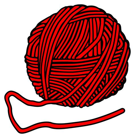 Of Yarn Clip Wolle Clipart Clipground