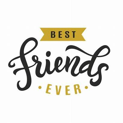 Friends Forever Ever Vector Clip Friendship Illustrations