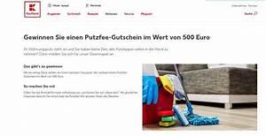 Kaufland Lieferservice Gutschein : kaufland putzfee gewinnspiel 500 euro gutschein gewinnen ~ Orissabook.com Haus und Dekorationen