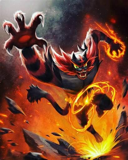 Pokemon Incineroar Epic Fan Fanart Crippen Rippen