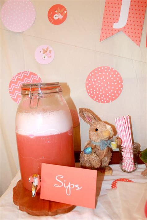 Pink Punch For Baby Shower - how to make pink baby shower punch simply southern