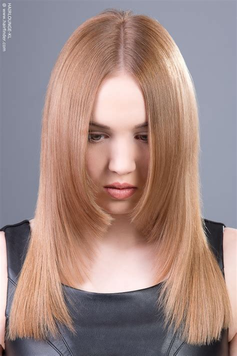 tapered hairstyles for long hair straight long hair with a centerpart and tapered sides