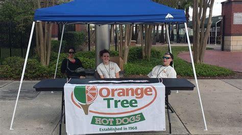 orange tree hot dogs  rivercity marketplace american