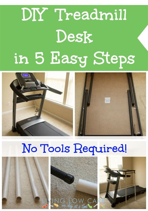 easy to make desk how to make a diy treadmill desk in 5 easy steps