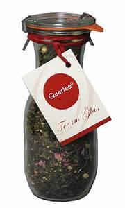 Tee Im Glas : teegeschenk tee im glas gr ner tee in einer weck flasche tee ~ Markanthonyermac.com Haus und Dekorationen