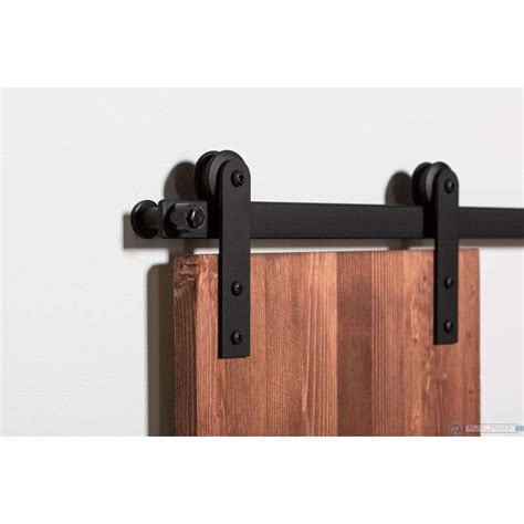 Barn Door Hardware Kit by Leatherneck Classic Mini Barn Door Hardware Kit 3