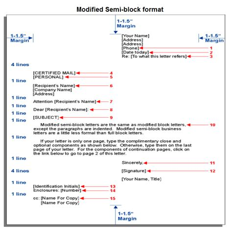 formal business letter block format world  reference